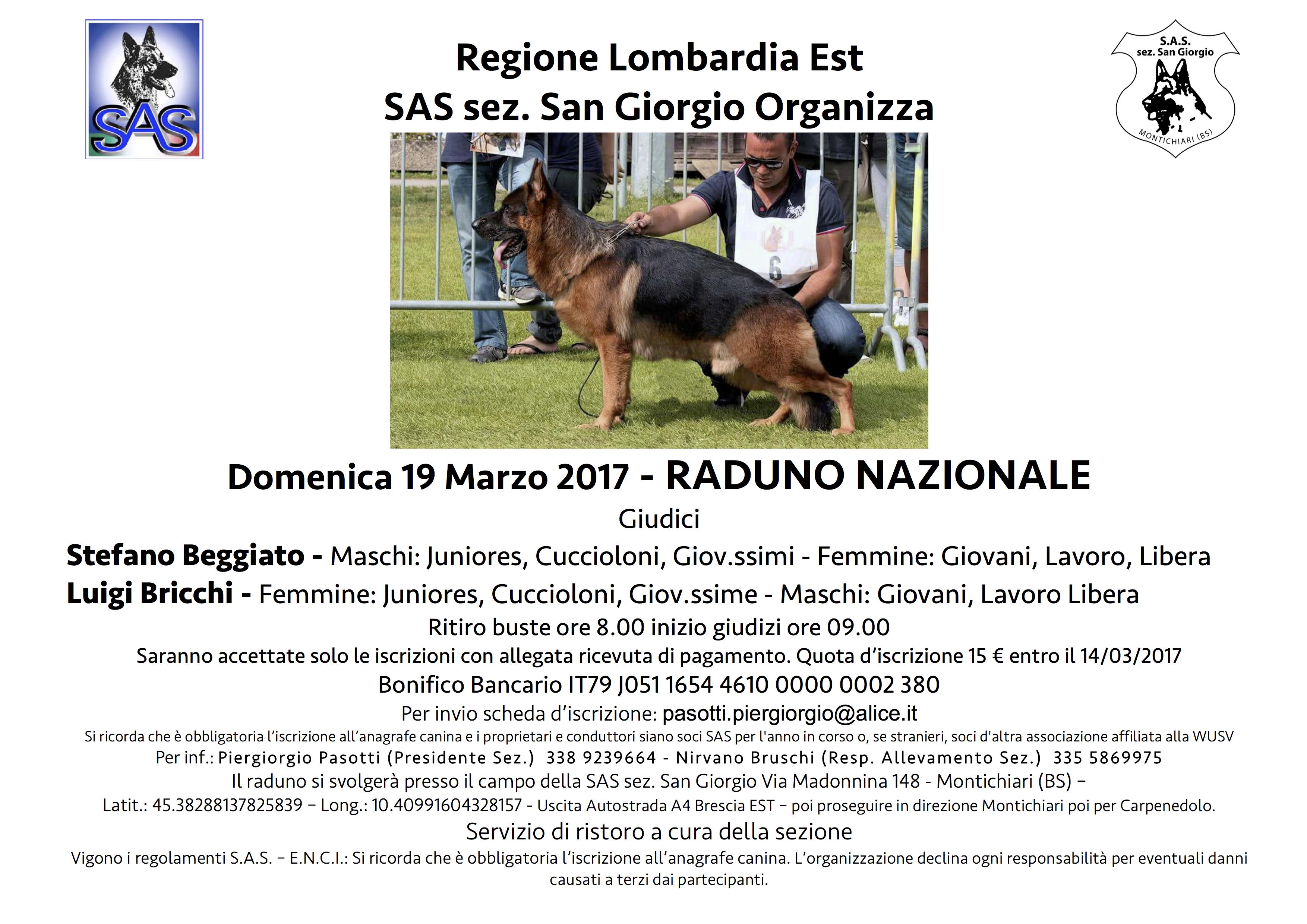 RADUNO NAZIONALE 2017